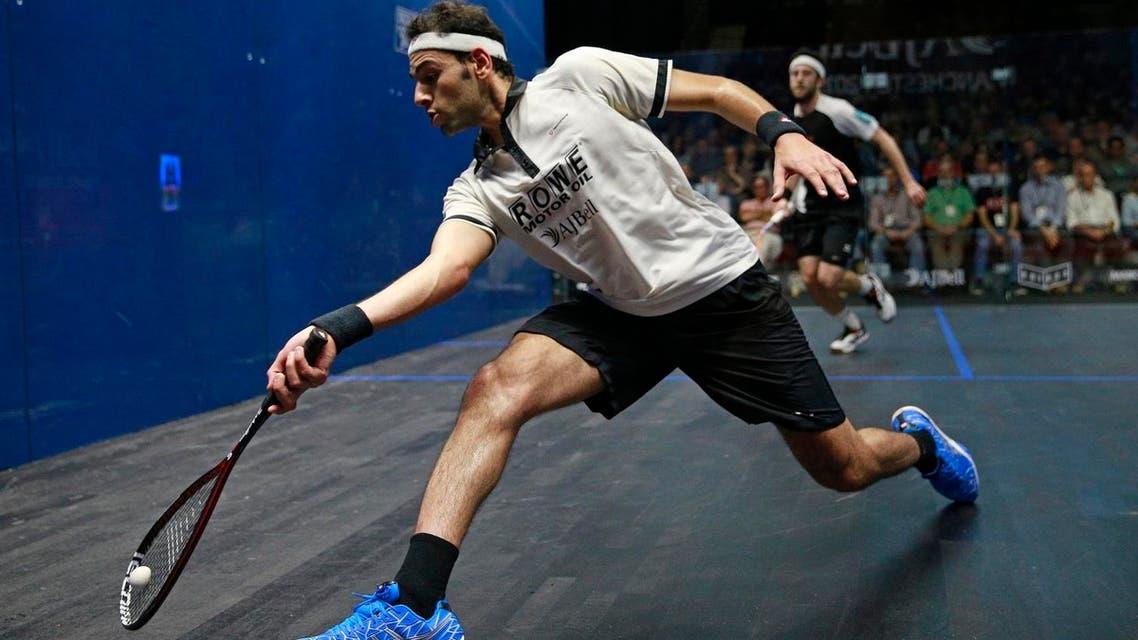 World squash number 1 Mohamed el-Shorbagy. (File photo/Reuters)