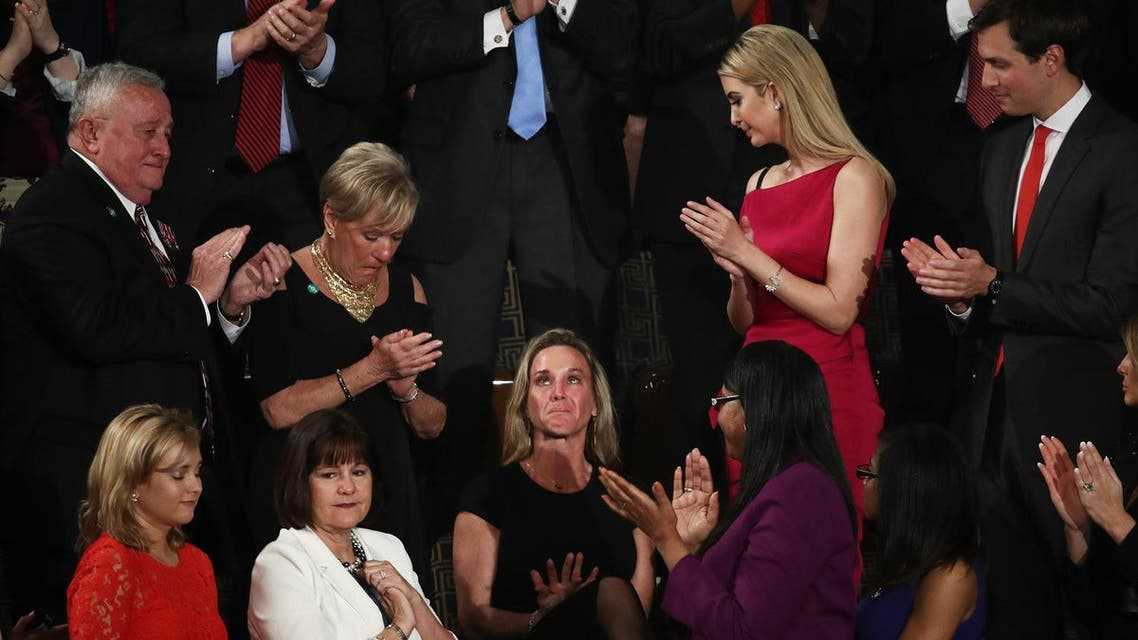 Carry Owens' wife in Congress. (AFP)