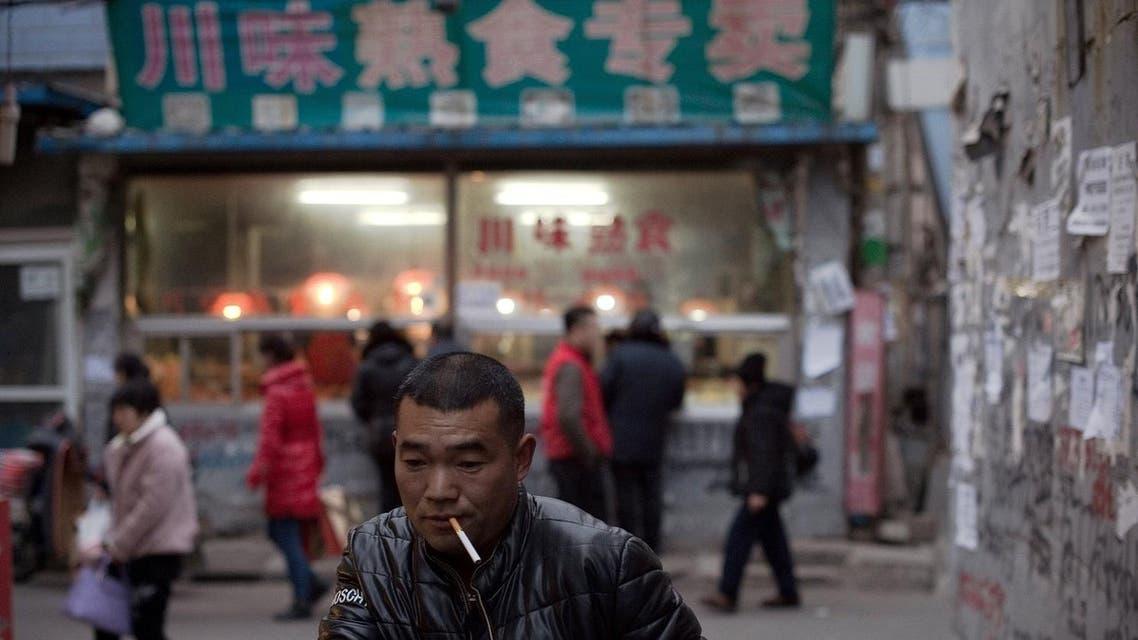 Beijing shantytown (AFP)