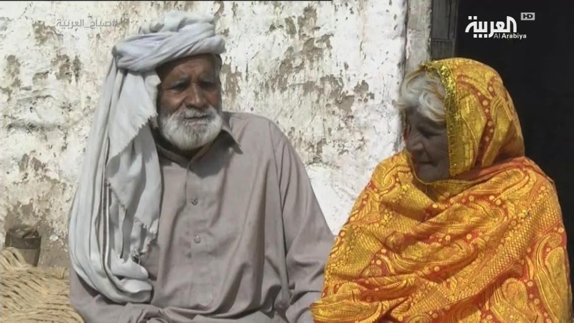 THUMBNAIL_ باكستانيان تزوجا في التسعين بعد أن فرقهما أهلهما 75 عاما