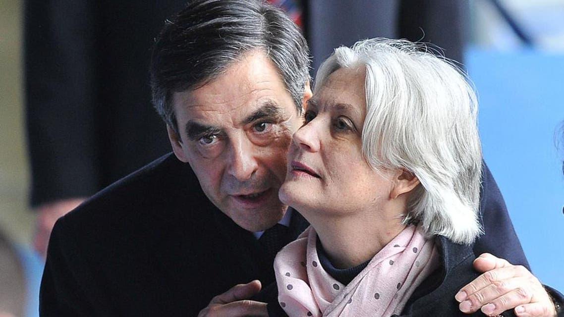 فرنسوا فيون وزوجته بينيلوب