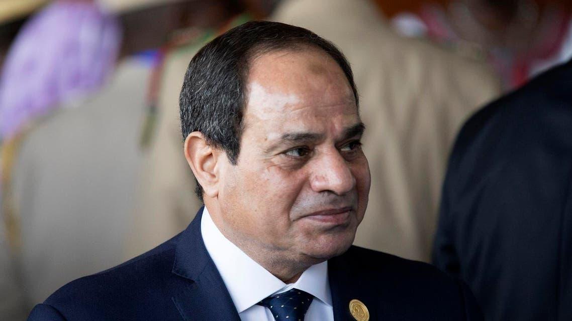 Egyptian President Abdel Fattah el-Sisi. AFP