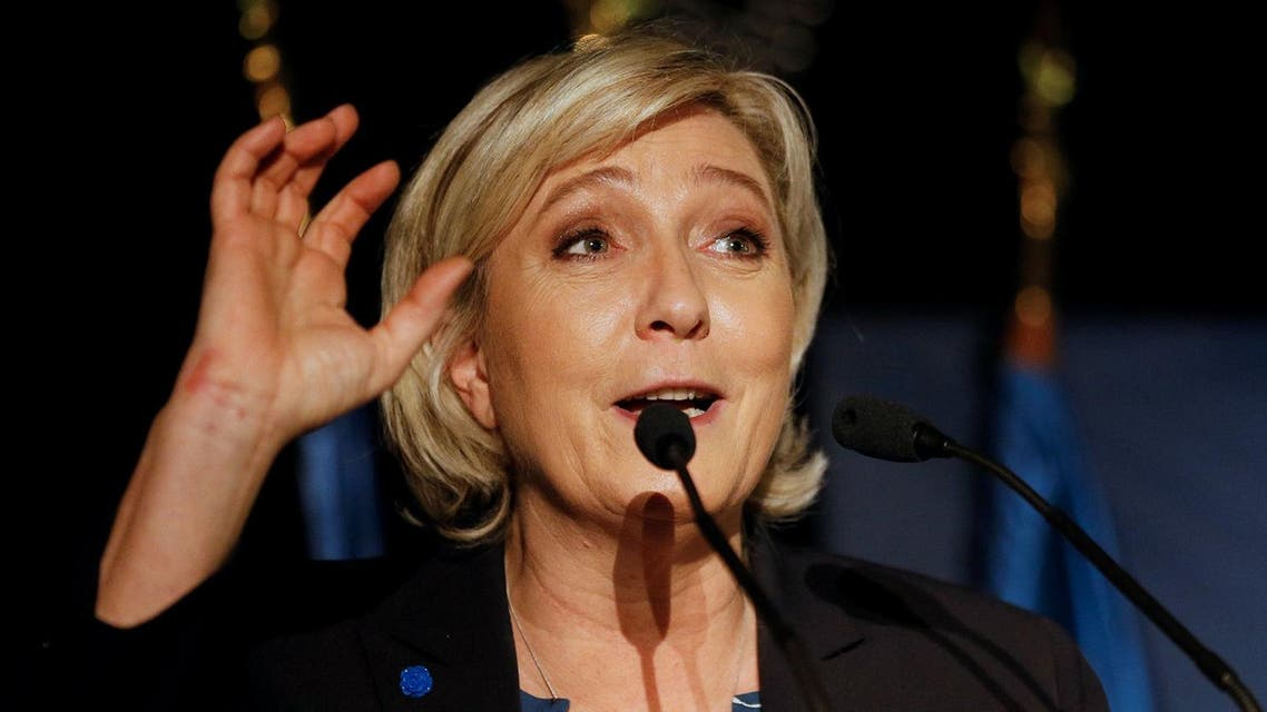 Marine Le Pen is under investigation in France for posting three graphic images of ISIS executions on Twitter in December 2015. (Reuters)