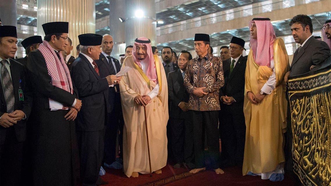 قصة حزام الكعبة الذي أهداه الملك سلمان لمسجد الاستقلال