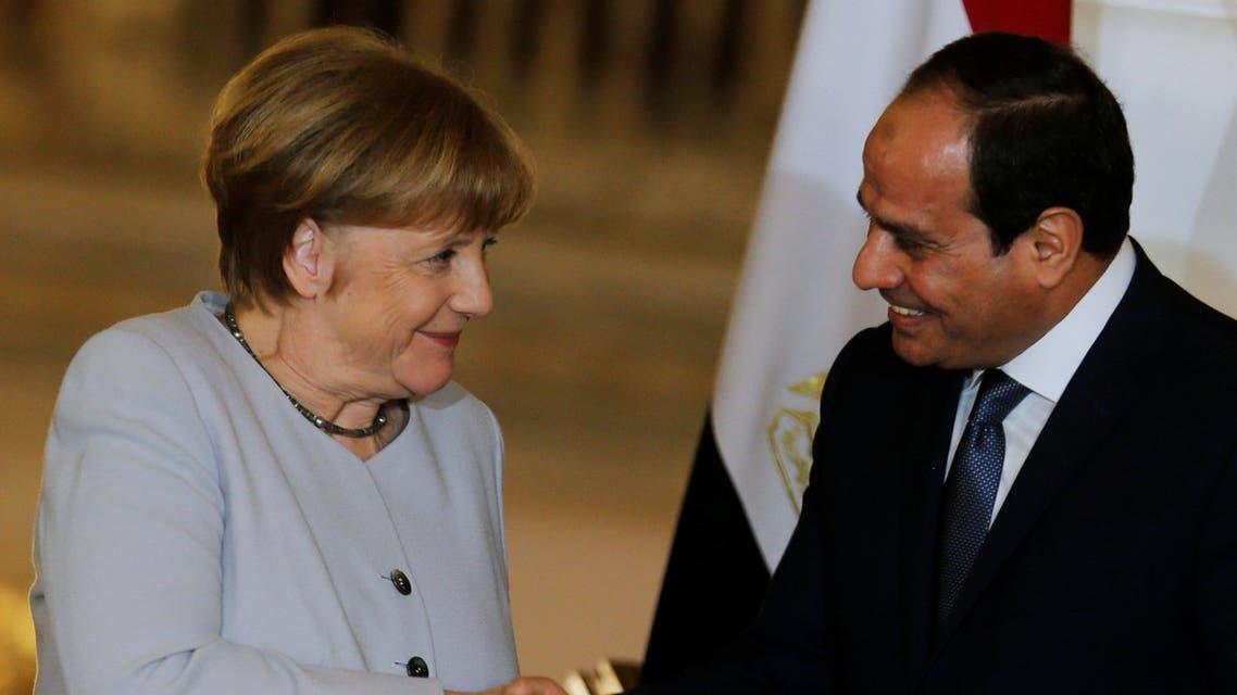 السيسي - ميركل - مصر - ألمانيا 3