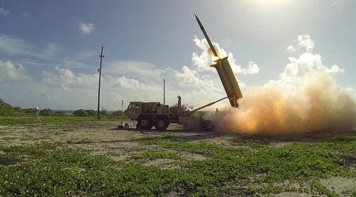 موشک آزمایشی کره شمالی