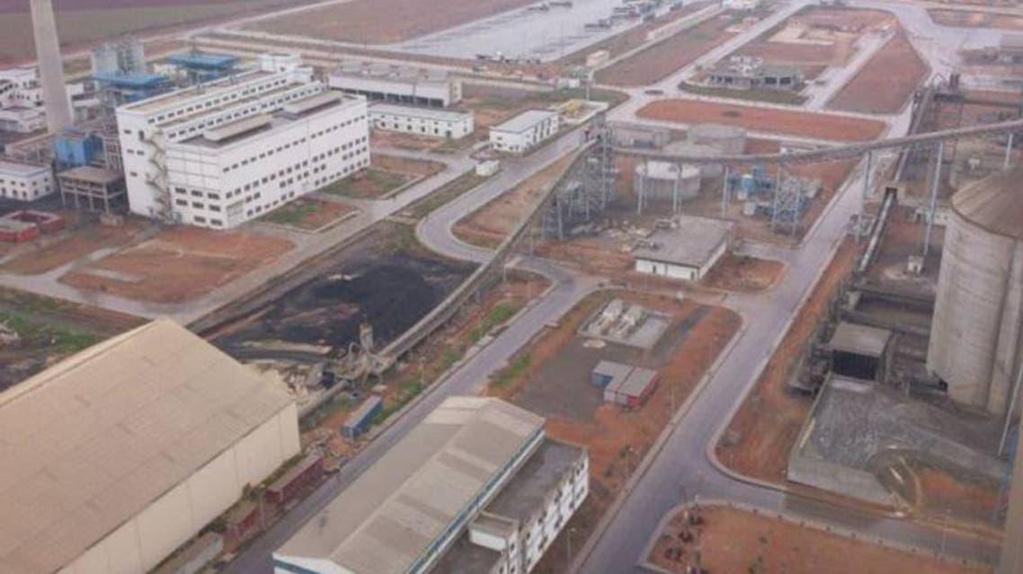 مصنع لافارج في حلب