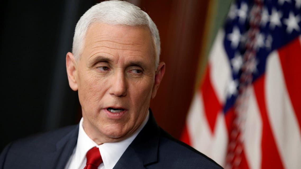 Pence criticized the Republican's rival Hillary Clinton for using a private email server for official communications. (Reuters)