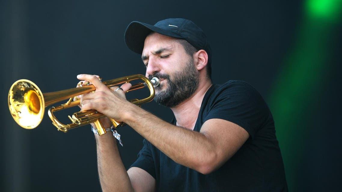 French-Lebanese trumpeter Ibrahim Maalouf. (AFP)