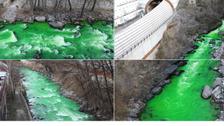 لماذا تحولت مياه نهر إسباني إلى اللون الأخضر؟