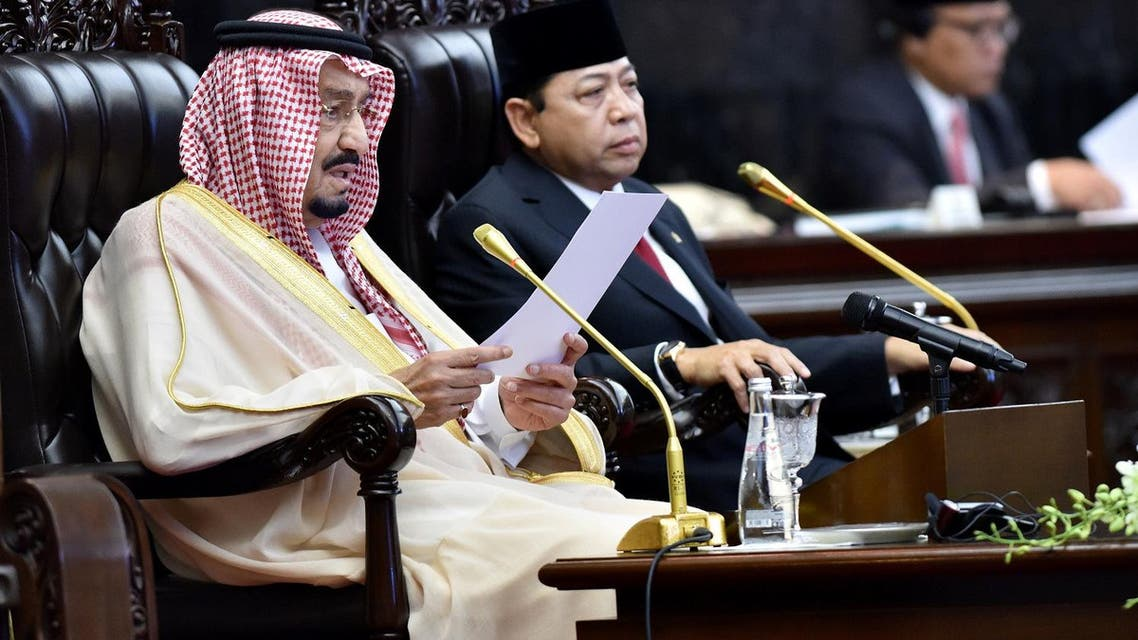King Salman on Thursday called for an intensified and united fight against terrorism. (Reuters)