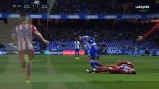 WATCH: Atletico Madrid's Torres collapses midgame