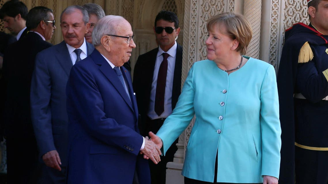 ميركل في تونس