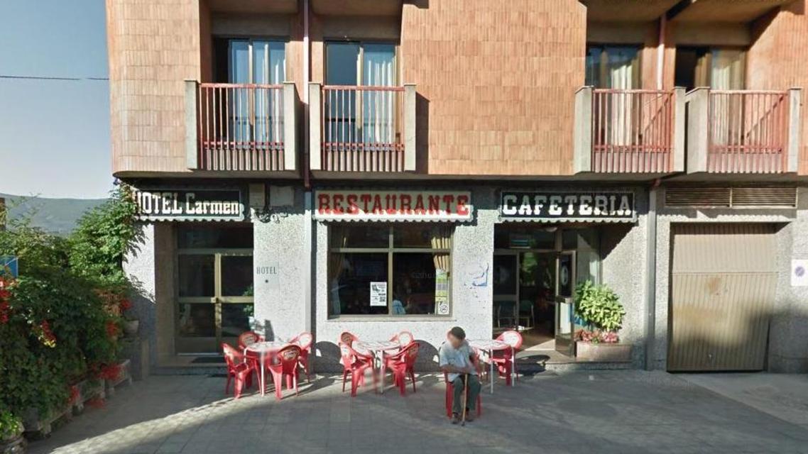 المطعم الاسباني الذي سرق