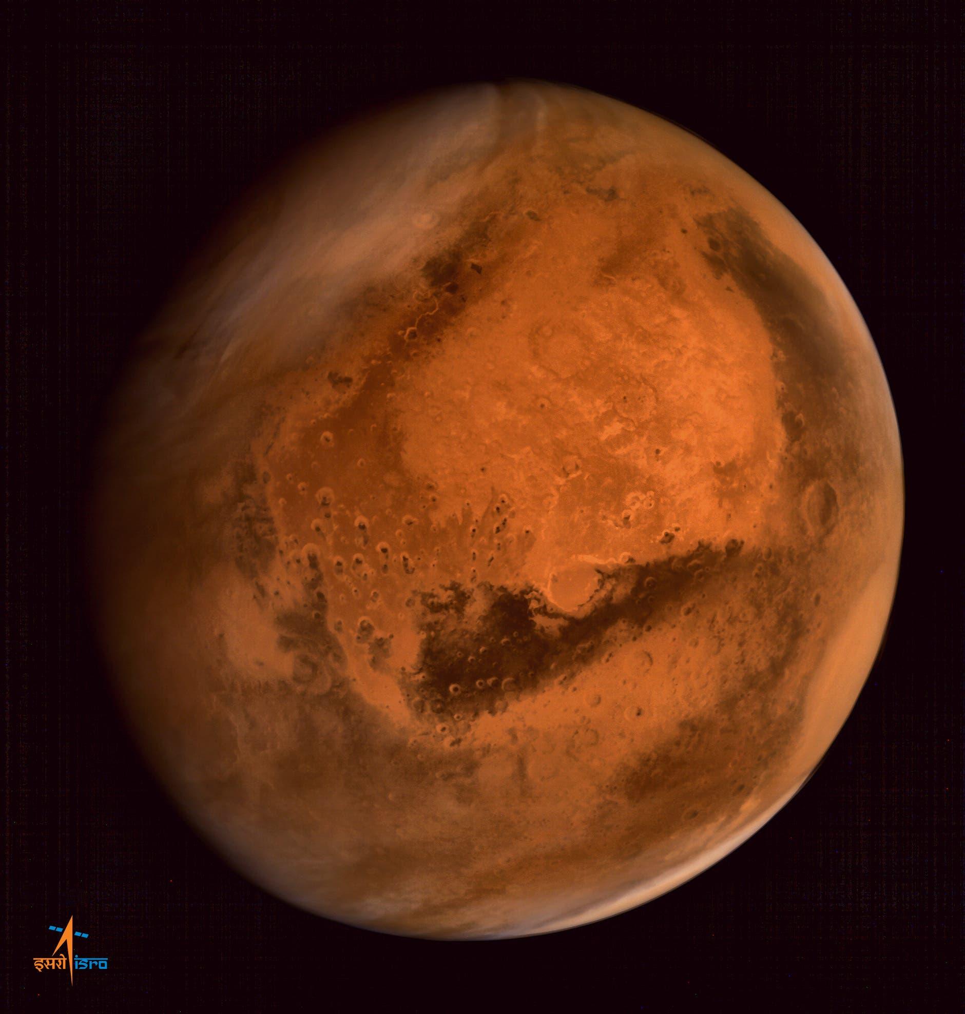 صورة للمزيخ نقلاً عن الوكالة الهندية للفضاء