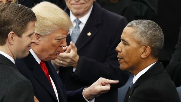 """ترمب يتهم أوباما بـ """"الخيانة"""".. وينتظر نتائج التحقيق"""