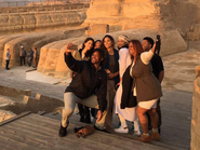 بالصور.. هذه تفاصيل زيارة ويل سميث إلى مصر