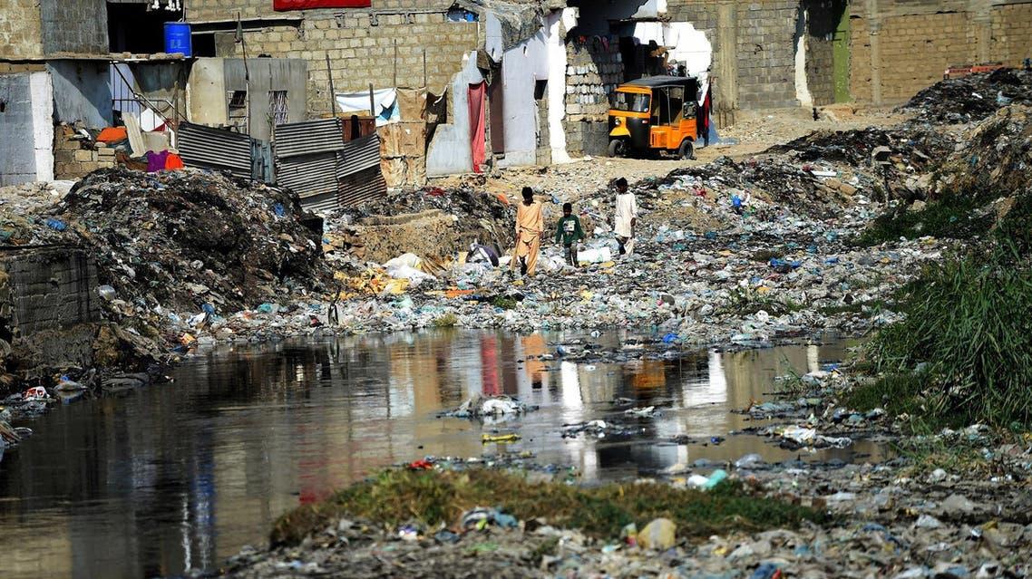 karachi rubbish afp