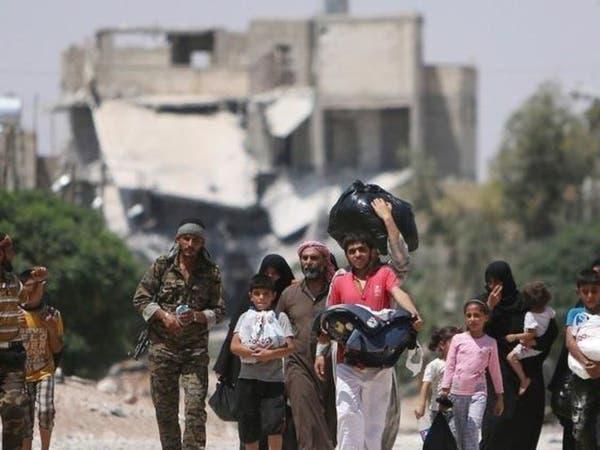 نزوح الآلاف من ريف حلب في ظل قصف روسي وسوري