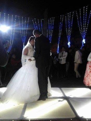 مصرية تحتفل بزفافها بعد 18 سنة زواج