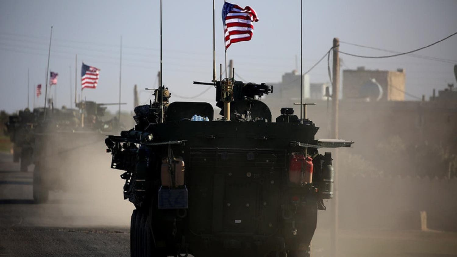 US troops in Syria. (AFP)