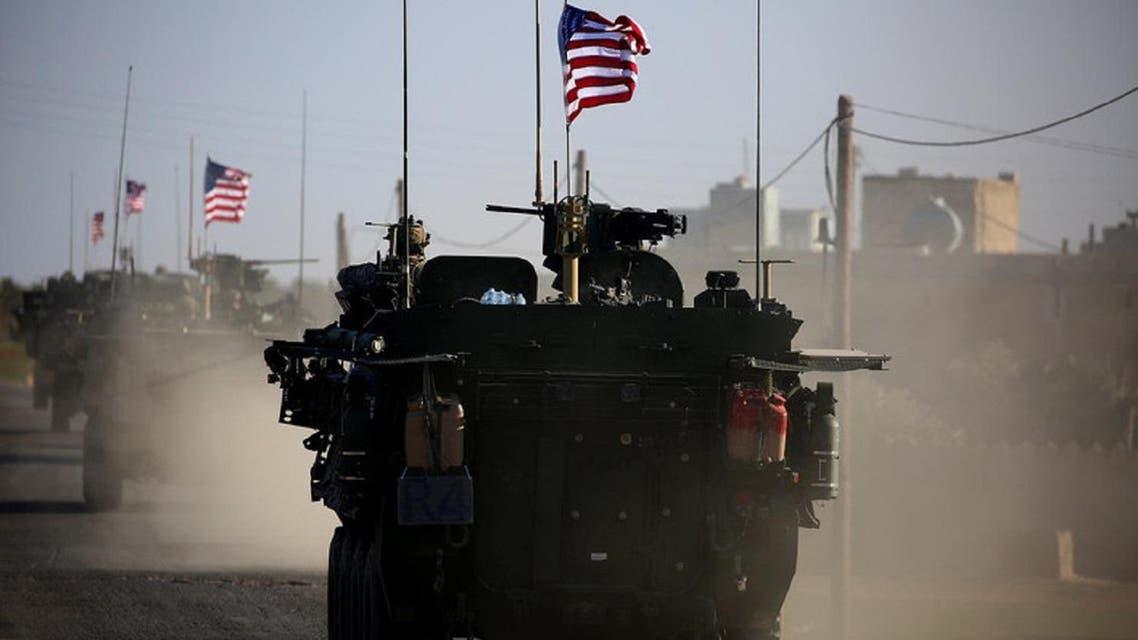 US troops in Syria. (AFP)