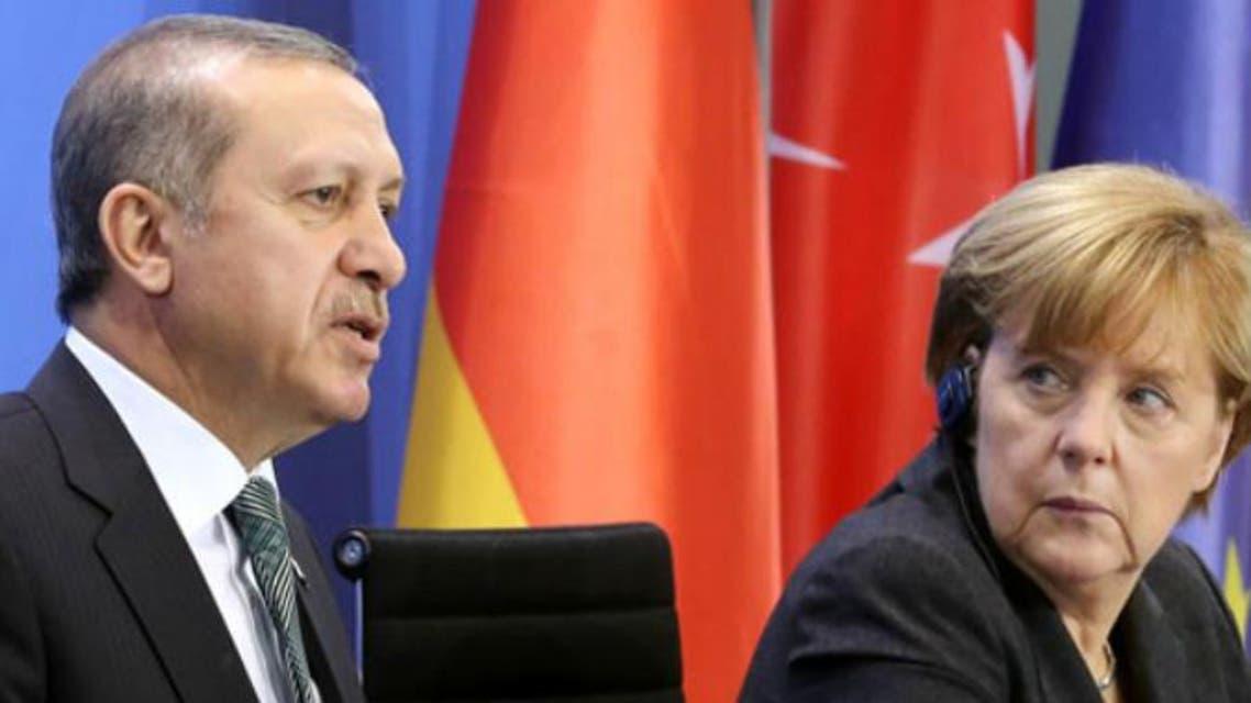 أردوغان و ميركل