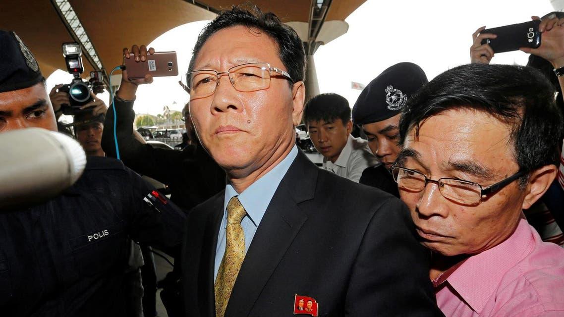 N. Korean ambassador to Malaysia. (Reuters)