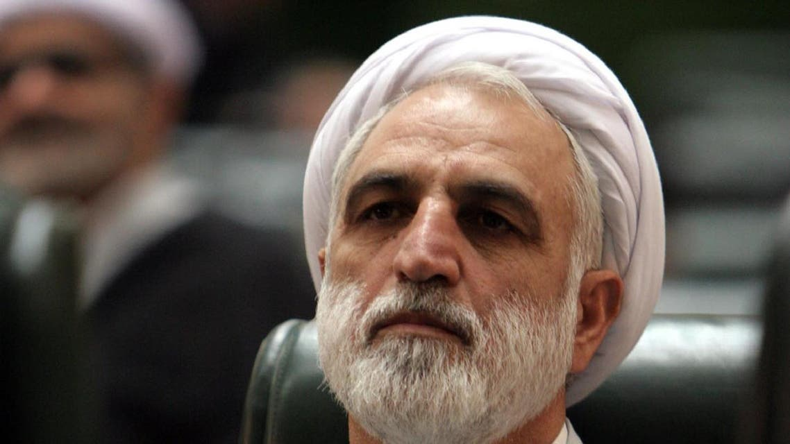 Gholam Hossein Mohseni Ejehei, Iran's judiciary spokesman, listens to a speech during a debate at the parliament, in Tehran, Iran, Sunday, Aug. 21, 2005. ( Filephoto: AP)