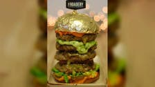 Burger with 24-carat gold bun takes Dubai by storm, including its crown prince