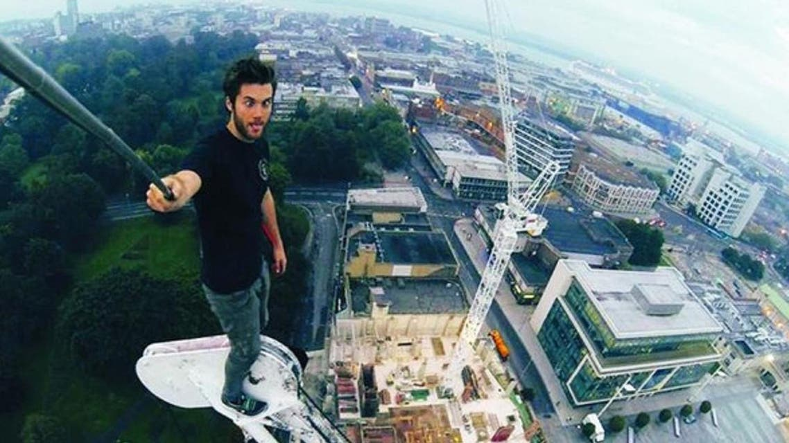 Selfie from Dubai tower. (Supplied)