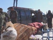 داعش يمنع آلاف الأسر من النزوح من ريف منبج