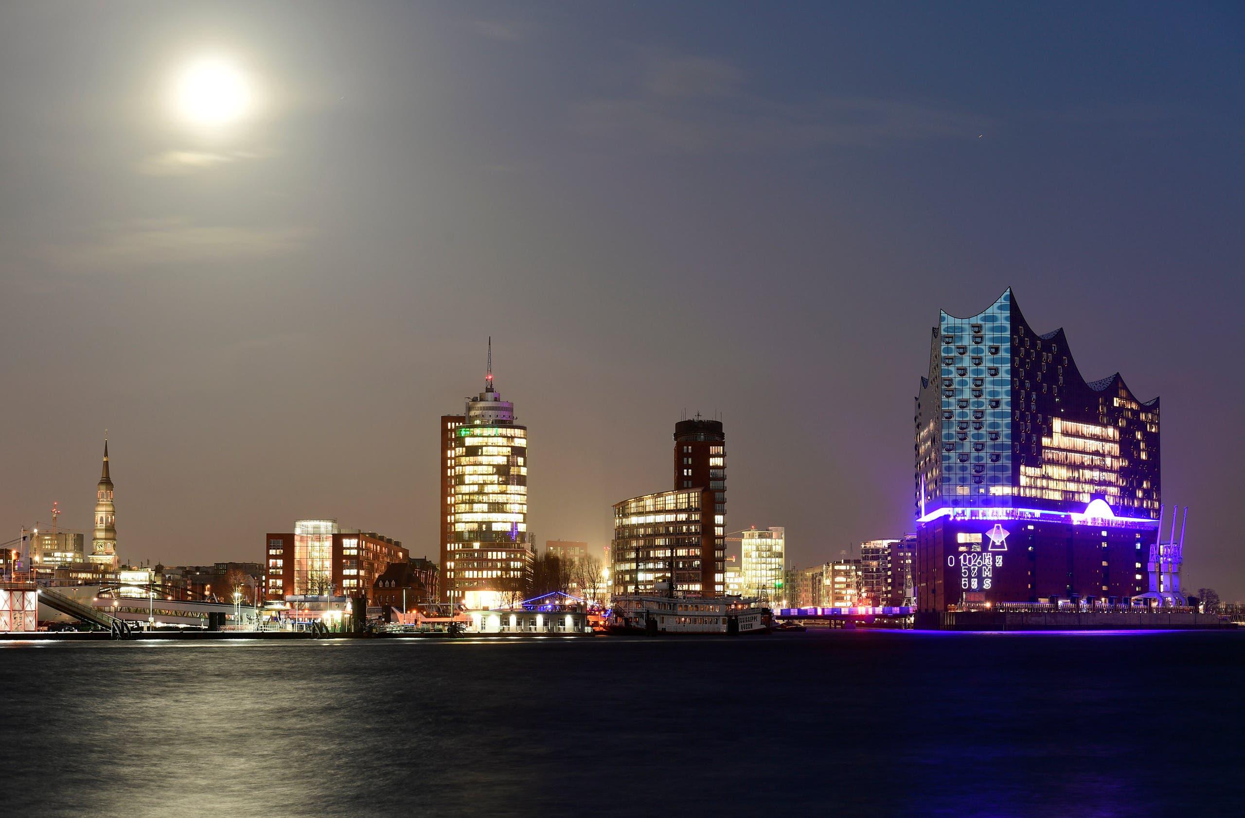 منظر عام لمدينة هامبورغ