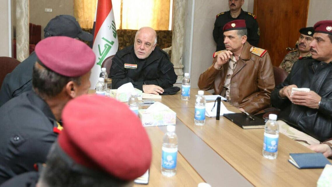 العبادي في الموصل2