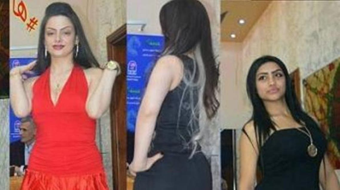 Participants at Syria's beauty pageant. (Supplied)