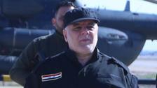 بالصور.. العبادي في الموصل بعد استعادة المجمع الحكومي