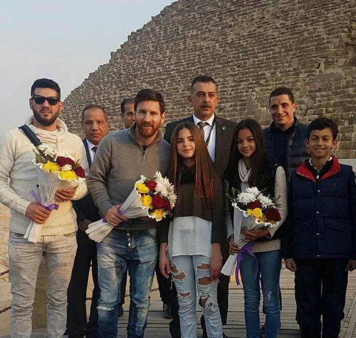 Messi in Egypt