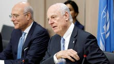 The Security Council reviews de Mistura's report on Geneva talks