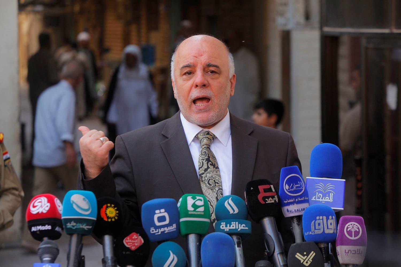 Iraqi Prime Minister Haidar al-Abadi. (File photo/ Reuters)