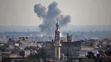 شام: جنگ بندی کے باوجود باغیوں کے زیر قبضہ قصبے پر بمباری ، دو ہلاک