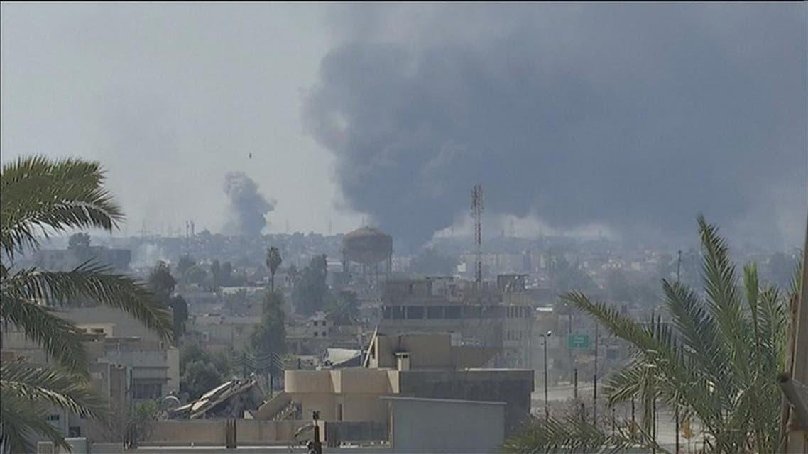THUMBNAIL_ الموصل.. العبادي يخير عناصر داعش بين الاستسلام أو الموت