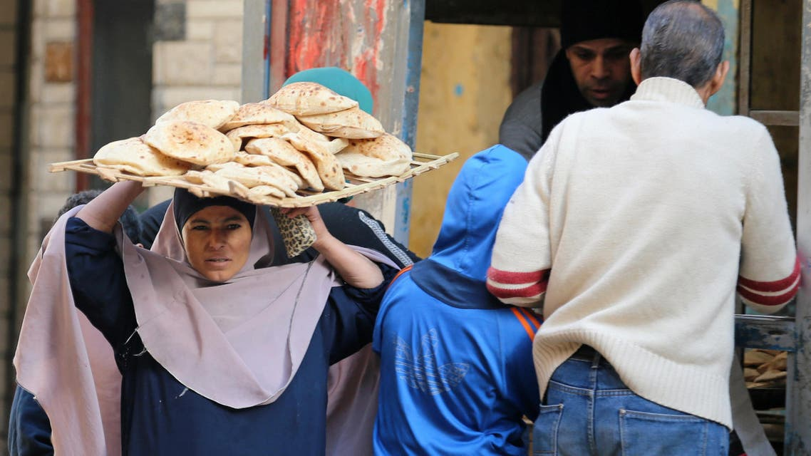 Bread subsidies are an explosive issue in Egypt, where more than 70 million people receive state rations. (Reuters)