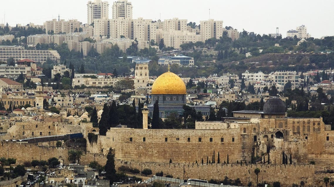 A general view of Jerusalem's old city shows the Dome of the Rock in the compound known to Muslims as Noble Sanctuary and to Jews as Temple Mount, October 25, 2015. (Reuters)