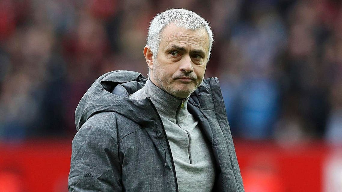 Manchester United manager Jose Mourinho looks during the English Premier League soccer match against AFC Bournemouth at Old Trafford, Manchester, England, March 4, 2017. (File Photo: AP)