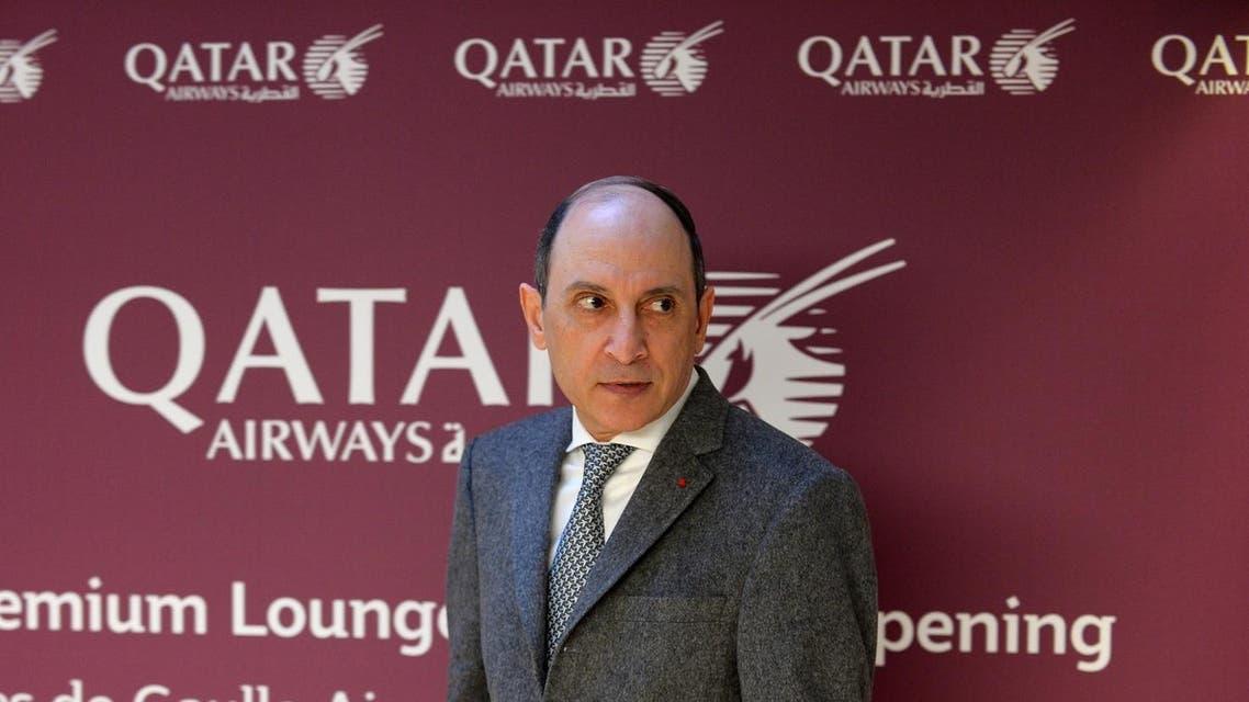Qatar Airways CEO, Akbar al-Baker. (AFP)
