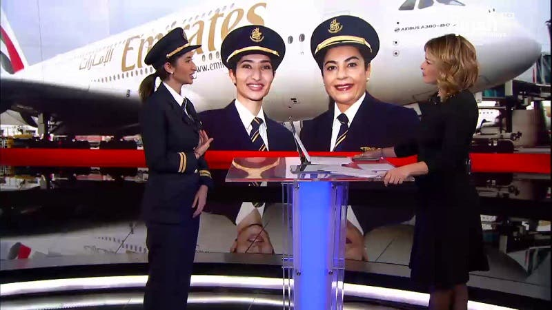 Youngest Emirati female pilot tells Al Arabiya: My gender was never an obstacle