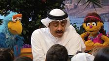WATCH: UAE FM appears on 'Sesame Street' child TV show