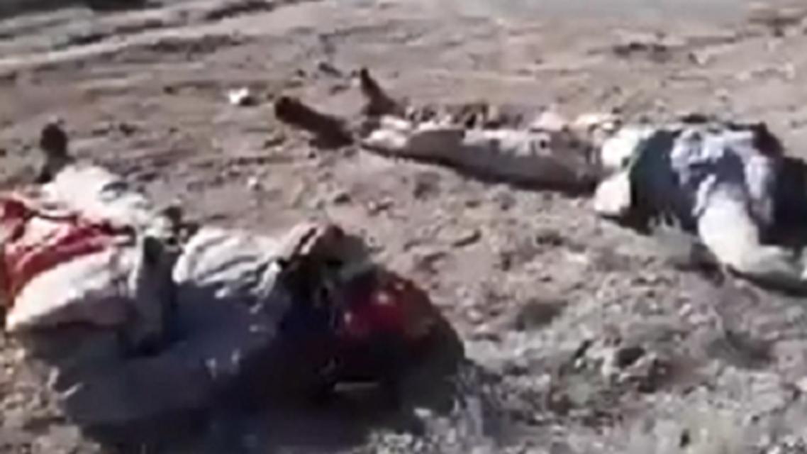 جثث أجانب داعش
