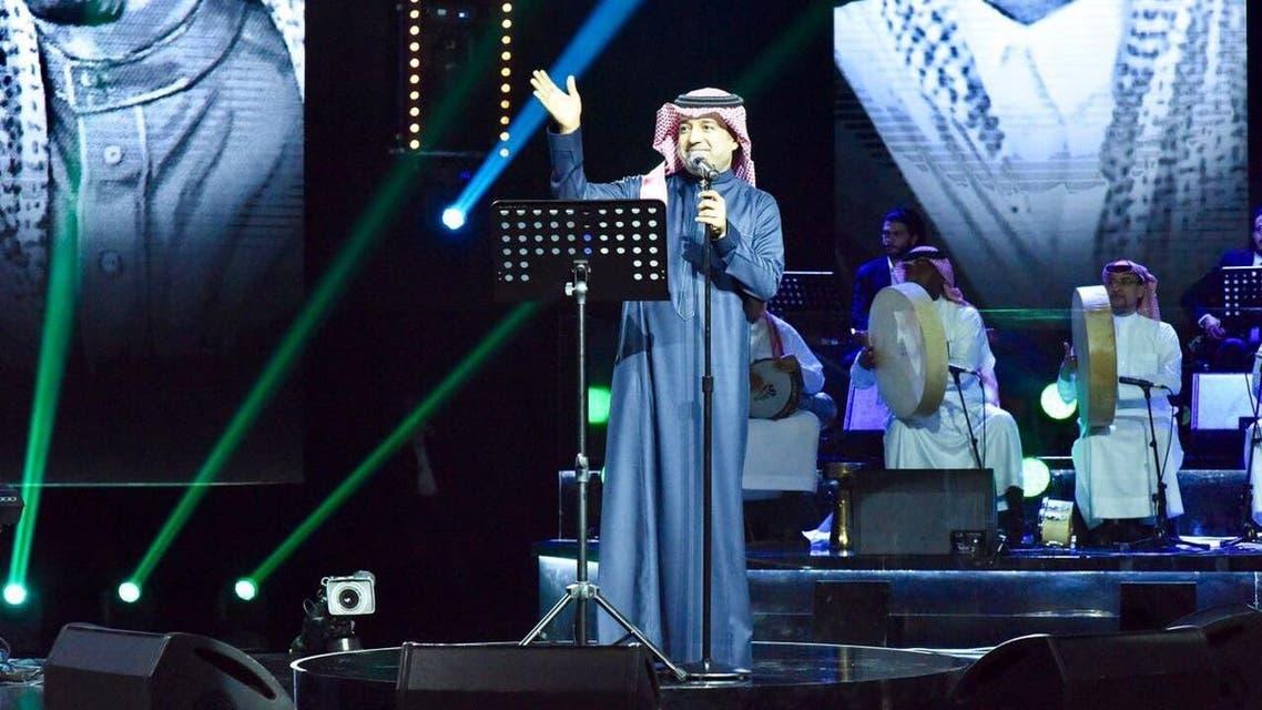 محمد عبده في حفل الرياض