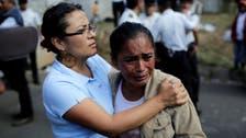 'Nightmare' scenes as Guatemala children shelter fire kills 35